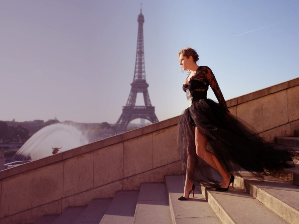 paris photoshoot trocadero