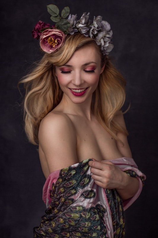 boudoir photographer paris
