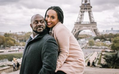 Couples Photoshoot in Paris with Eric and Sibo